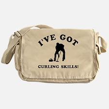 I've got Curling skills Messenger Bag