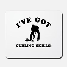 I've got Curling skills Mousepad