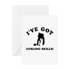 I've got Curling skills Greeting Card