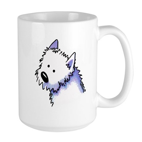 Good Dog Westie Large Mug