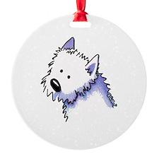 Good Dog Westie Ornament