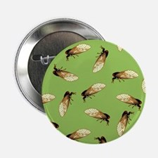 "Cicada Pattern 2.25"" Button"
