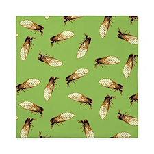 Cicada Pattern Queen Duvet