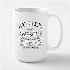 World's Most Awesome Step-Father Mug