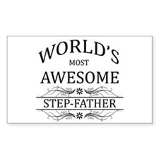 World's Most Awesome Step-Father Decal