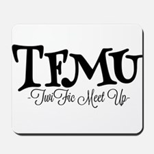 TFMU Official B&W Logo Mousepad