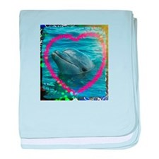 Sweet heart Dolphin... Love you !!!! baby blanket