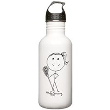 Lacrosse Stickgirl BLWTP Water Bottle