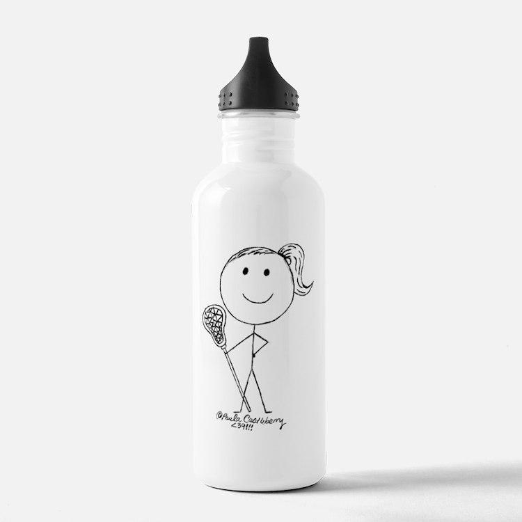 Lacrosse Stickgirl BLWTP Water Bottle