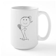 Lacrosse Stickgirl BLWTP Mug