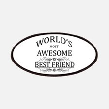 World's Most Awesome Best Friend Patches
