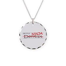 Job Ninja Dentist Necklace Circle Charm