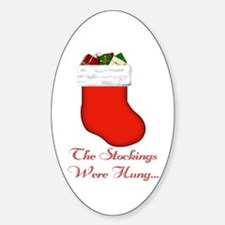 The Stockings Were Hung... Decal