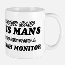 Funny Savannah Monitor designs Mug
