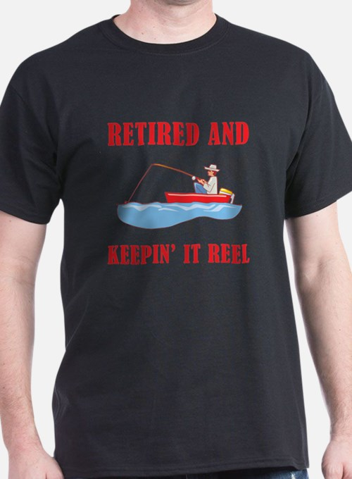 Funny Fishing Retirement T-Shirt