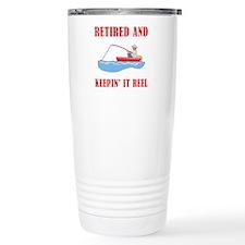 Funny Fishing Retirement Travel Mug