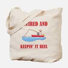 Funny Fishing Retirement Tote Bag