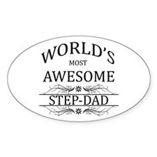 World's Most Awesome Step-Dad Decal