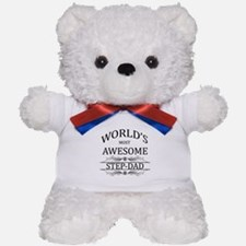 World's Most Awesome Step-Dad Teddy Bear