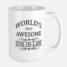 World's Most Awesome Son-in-Law Large Mug