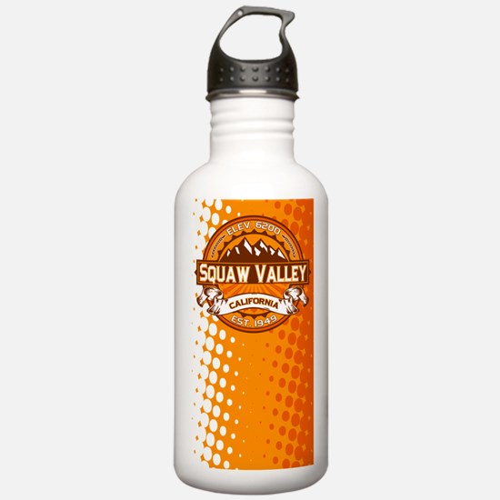 Squaw Valley Tangerine Water Bottle