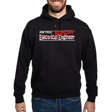 Job Ninja Electrical Eng Hoody