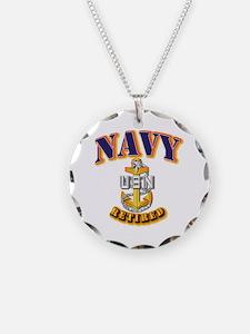 NAVY - SCPO - Retired Necklace