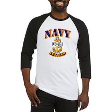 NAVY - SCPO - Retired Baseball Jersey