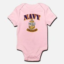 NAVY - SCPO - Retired Infant Bodysuit
