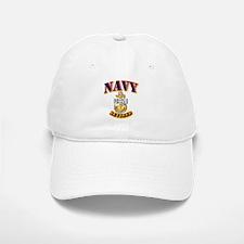 NAVY - SCPO - Retired Baseball Baseball Cap