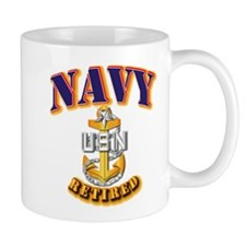 NAVY - SCPO - Retired Mug