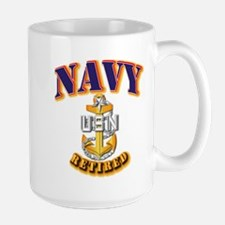 NAVY - SCPO - Retired Mug
