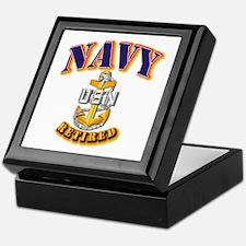 NAVY - SCPO - Retired Keepsake Box