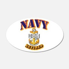 NAVY - SCPO - Retired Wall Decal