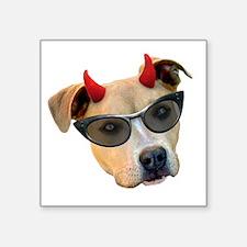 Devil Dog Sunglasses Sticker