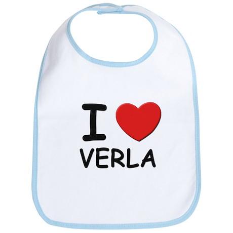 I love Verla Bib