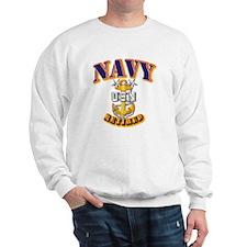NAVY - MCPO - Retired Sweatshirt