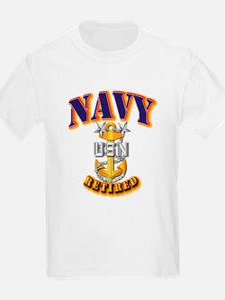 NAVY - MCPO - Retired T-Shirt