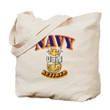 NAVY - MCPO - Retired Tote Bag