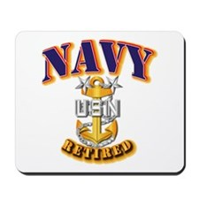 NAVY - MCPO - Retired Mousepad