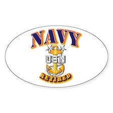 NAVY - MCPO - Retired Decal