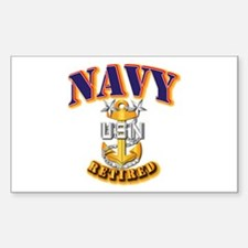 NAVY - MCPO - Retired Decal