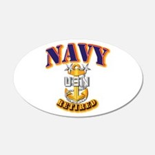 NAVY - MCPO - Retired Wall Decal