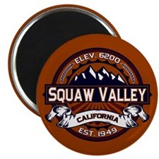 Squaw Valley Vibrant Magnet