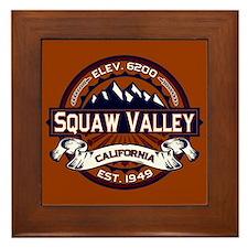 Squaw Valley Vibrant Framed Tile
