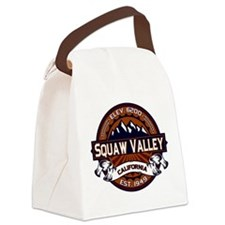 Squaw Valley Vibrant Canvas Lunch Bag