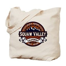 Squaw Valley Vibrant Tote Bag