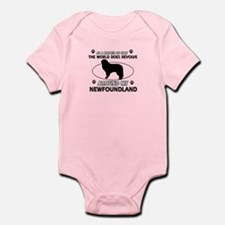NewFoundland Dog breed designs Infant Bodysuit