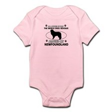 NewFoundland Dog breed designs Onesie