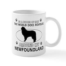 NewFoundland Dog breed designs Mug
